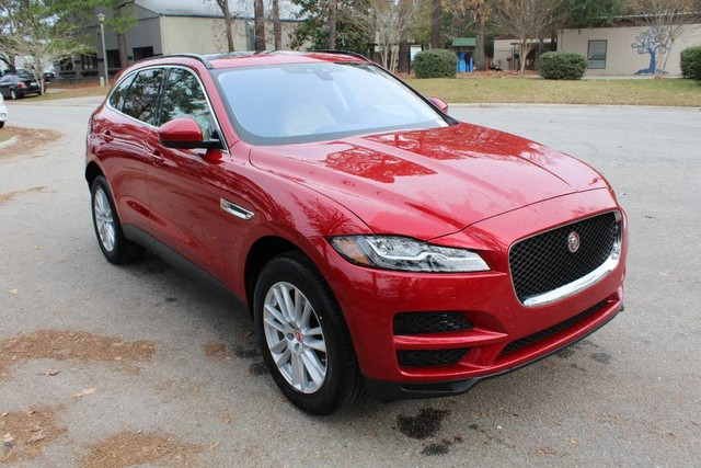pre owned 2017 jaguar f pace 35t prestige suv in charleston ja1646l jaguar west ashley. Black Bedroom Furniture Sets. Home Design Ideas