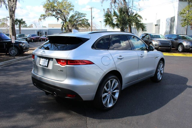 pre owned 2017 jaguar f pace 35t r sport suv in charleston ja1659l jaguar west ashley. Black Bedroom Furniture Sets. Home Design Ideas